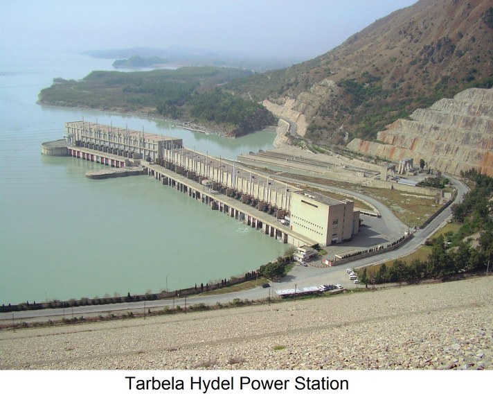 Tarbela Hydel Power Station 712x600