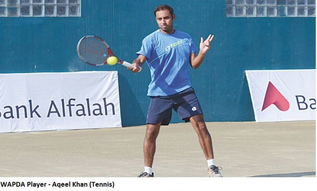 Aqeel Khan Tennis